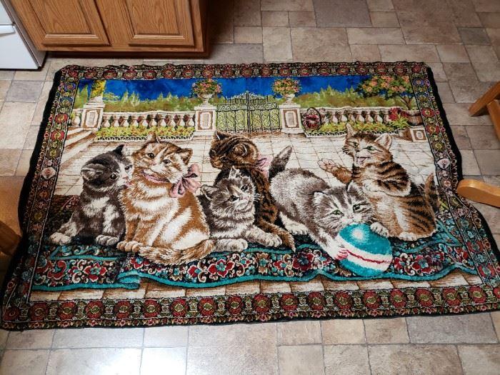 Cat tapestry