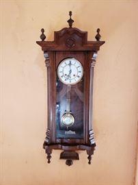 Antique German clock.
