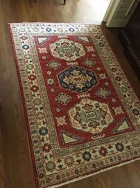 approx 4 by 6 Syrian all wool rug