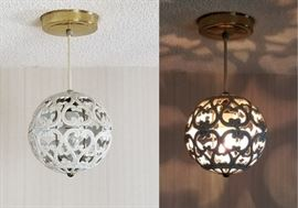 Vintage Ceiling Light Fixture