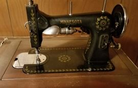 Vintage Sewing Machine Minnesota Rotary