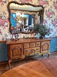 Thomasville Shell Front, Dining room cabinet