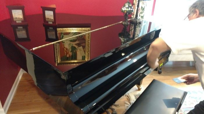 Yamaha Disc Player Baby Grand Piano