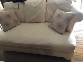Loveseat , matching sofa and ottoman