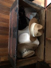 Trunk of hats