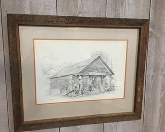 Old Sautee Store by Winslow A. Crannell
