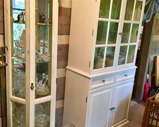 mirrored display cabinet & china cabinet