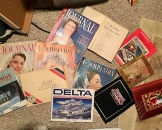 vintage magazines & books