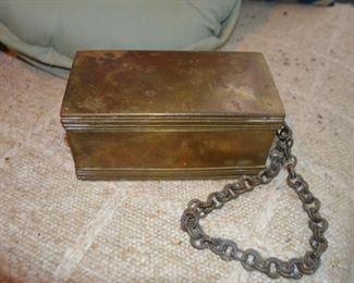 copper & brass box