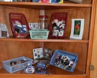 Olympic collectibles, etc.
