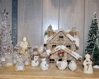 great selection of Christmas decorations!