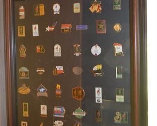 1996 Atlanta Olympic sponsor pin collection (issue 635 of 1200)