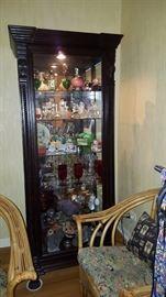 Curio Cabinet & Contents