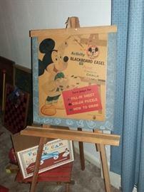 Walt Disney Productions original Blackboard Easel