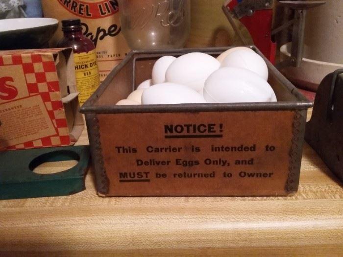 Egg Delivery Carrier