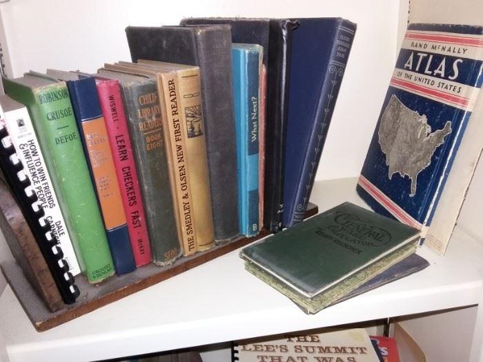 Vintage Child's books