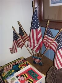 Great Flag Display for home or work