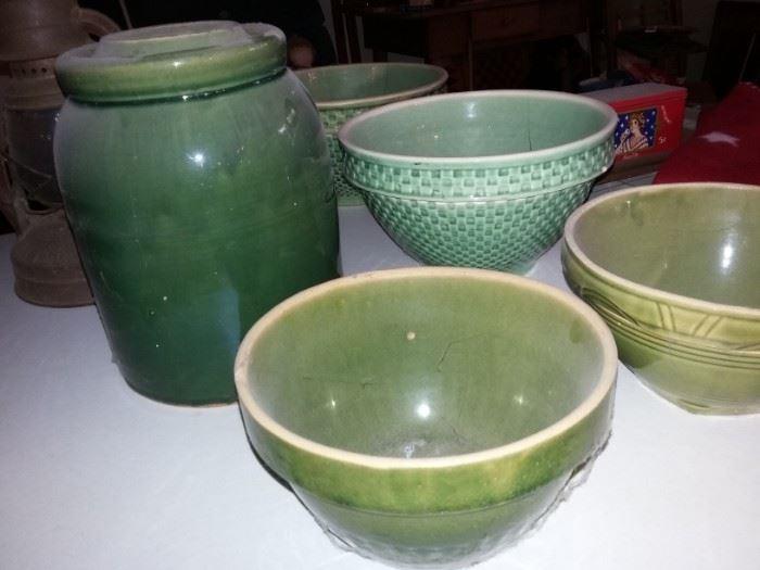 Crocks & Crock Bowls