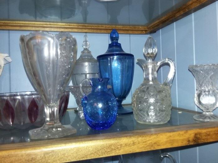 Cruets, Spooners, Vases