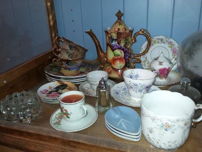 Beautiful Tea Sets, China, Glassware