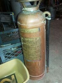 Copper Fire Extinquisher