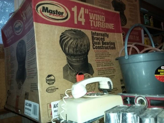 "Master 14"" wind turbine"