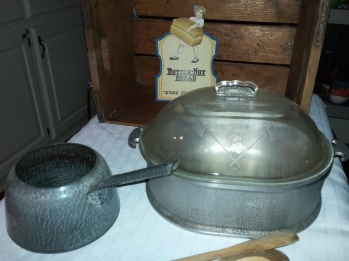 Guardian Ware Roaster with Glass Lid