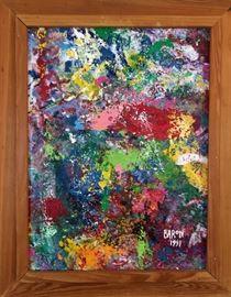 """Jack Barron - 1991                                                                       12""""x 16""""                                                                                      $225.00"""