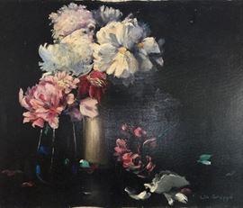 "Lila Gruppe' FLOWERS                                                                20""x 24""                                                                                                          $475.00"