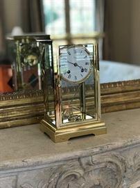 Asprey mantel clock