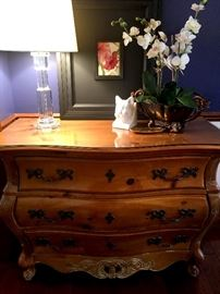 Also A Three Drawer Chest/Buffet/Side Table...She Will Fit In Anywhere!...