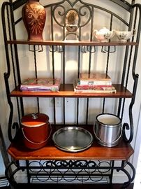 A Really Nice Iron Bakers Rack...