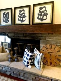 "In the Family Room We Have Some Decorator Items, Artwork, Chairs...and ""Sit-Arounds""..."