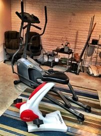 To the Basement!...Exercise Equipment...