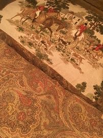 Hunt Scene Queen Size Bedding...