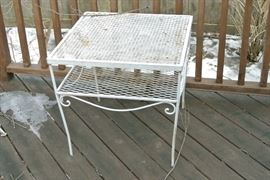 outdoor side table $20