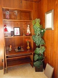 Faux plant / unusual bookcase