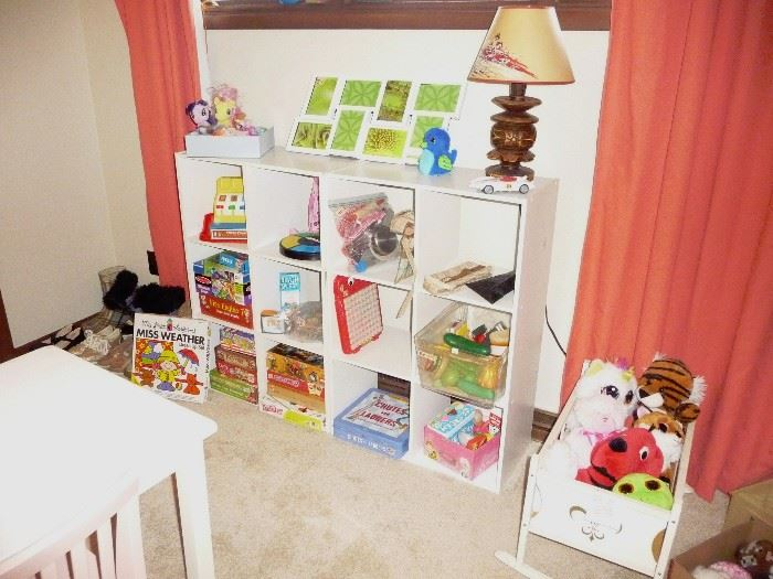 children's games and books
