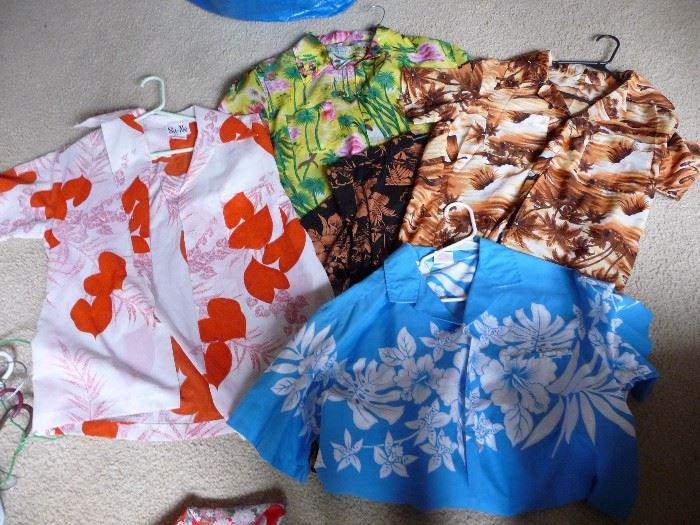 Hawaiian clothes
