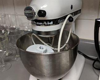 Kitchen aid mixer
