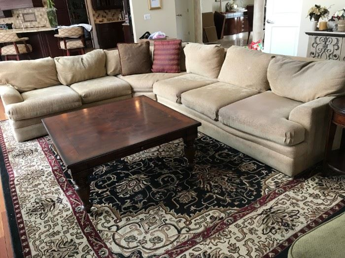 Sectional Sofa made by Carter Furniture