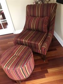 Lounging Chair w/ Ottoman