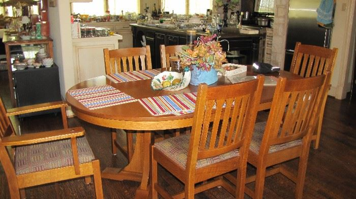 Table & Chairs by Stickley