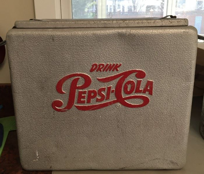 Pepsi-Cola Cooler.