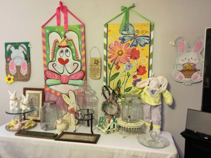 Easter and Spring decor
