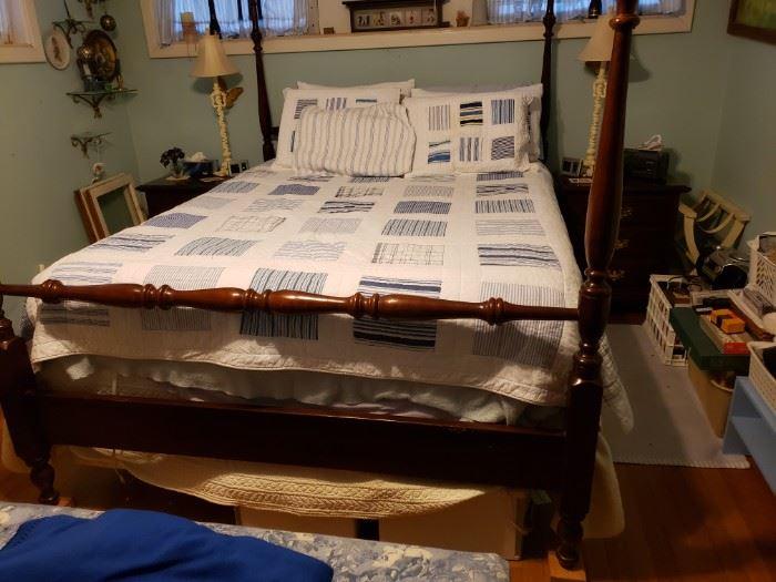 Same bed.