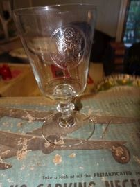Presidential Seal Wine glass