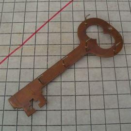 Copper Wall Key Organizer