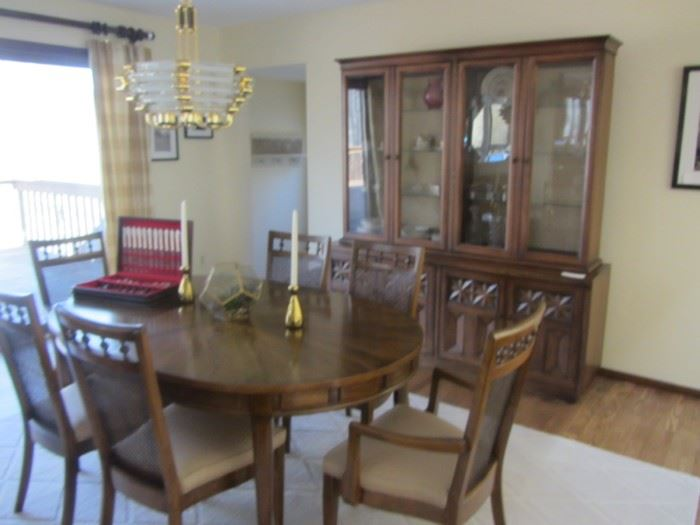 AMERICAN OF MARTINSVILLE DINING ROOM SET