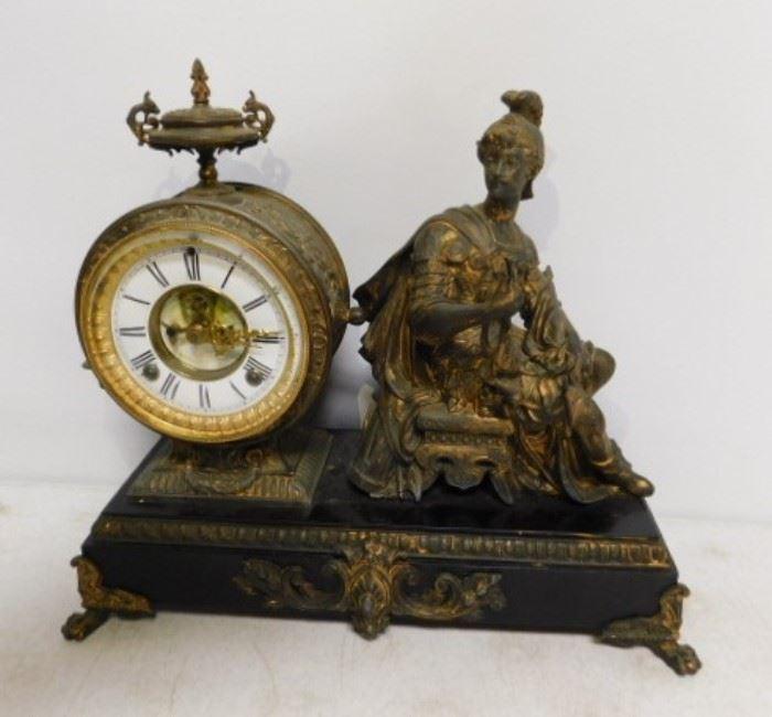 Bronze Ansonia Clock circa 1882 NY